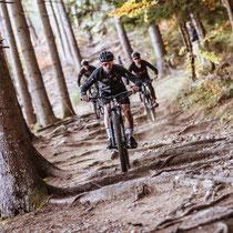 Die Bora-hansgrohe-Profis am Sagan-Trail am Hochstein (Copyright: Expa Pictures)