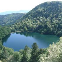 Bergsee in den Vogesen