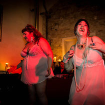 Show: Rachel von Hindman & Johanna Blackstone - Foto: House of Rough Arts