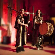 Die Musiker: PAN PETER & CASTUS von CORVUS CORAX - Foto: Lex