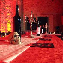 "Vor dem Dinner ""BLUTGERICHT"" - Foto: Fexa"