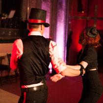 """Intro für die Show """"das Blutbad"""" MISS SUGAR & FEXA - Foto: Lex"""