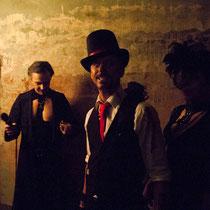 Backstage: DR DIVA, FEXA und MYS TIA - Foto: Lex