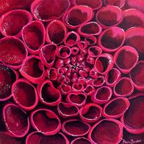 'Nature's Patterns' Acrylic 40cm x 40cm £220