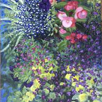 'Pavilion Gardens' Acrylic framed 44cm x 60cm £350