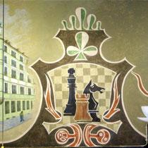 Ausschnitt Wandgemälde Schellingsalon