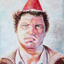 Gerhard Polt - Acryl - 40 x 50 cm