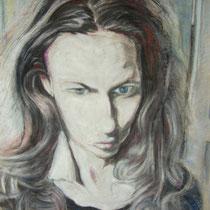 Mischtechnik Pastell Gouache - 35 x 50 cm