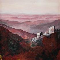 Jemen I - Acryl Mischtechnik - 50 x 70 cm