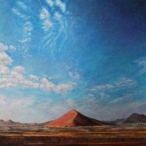 Wüste I - Acryl Mischtechnik - 100 x 70 cm