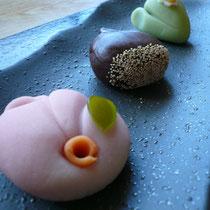 森本の和菓子で季節を感じてほしい