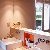 Meuble vasque avec robinetterie FANTINI