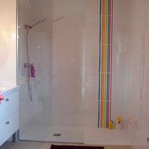 douche salle de bains enfant