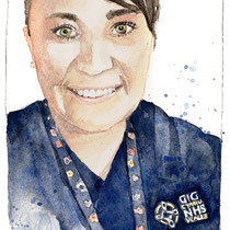 Portraits for NHS heros