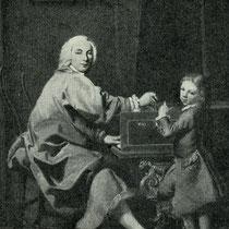 Burkhart Tschudi (Shudi) Klavierbauer