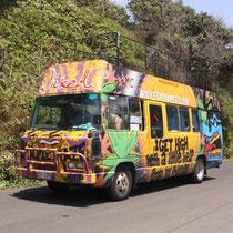 Hippie Bus in Byron - davon gibt es einfach sooo viele..