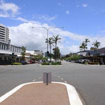 Die quadratisch angelegte Stadt Cairns