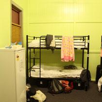 Unser Hostelzimmer