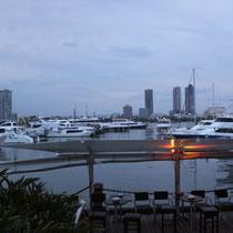 Der Yachthafen am Hostel war dafür umso schöner!