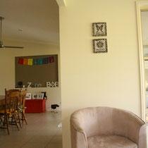 Die kleine Ecke am Fenster wo Barbera und Bob jeden Morgen vor 8 ihren Kaffee trinken und reden. Diese Zeit nehmen sie sich jeden Tag :)
