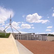 Das Parlament - von außen ganz nett, aber sonst nicht so toll..
