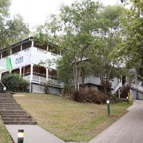 Unser Hostel in Noosa - YHA, WUnderschön!