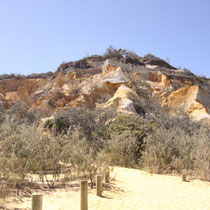 The Pinnacles - bunter Sand