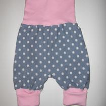 113 bequeme Babyhose Größe 50-92 aus Jersey mit krempelbaren Bündchen oben und unten .... Preis: 14,00 Euro