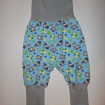 14 Baby-/ Kleinkindhose (aus Jersey und dehnbarer Bündchenware. Wächst quasi mit, weil man die Bündchen umkrempeln kann)....Preis: 16,00 Euro