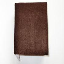 14  Buchumschlag mit Lesezeichen, je nach dicke des Buches stufenlos verstellbar