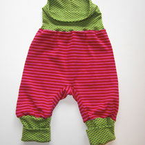 2 Baby-/ Kleinkindhose (aus Jersey und dehnbarer Bündchenware. Wächst quasi mit, weil man die Bündchen umkrempeln kann)....Preis: 16,00 Euro