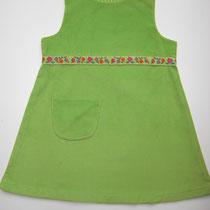 67 Kleid aus Baumwolle und Feincord.... Preis: 19,00 Euro