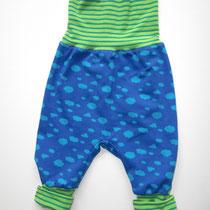 4 Baby-/ Kleinkindhose (aus Jersey und dehnbarer Bündchenware. Wächst quasi mit, weil man die Bündchen umkrempeln kann)....Preis: 16,00 Euro