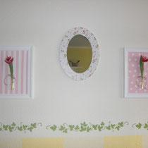 6 Auf Holz gemalt, ohne Bilderrahmen wie auf dem Foto, aber mit lackiertem Styroporrahmen erhältlich (siehe Foto 2 bei Bilderrahmen). Auch auf Keilrahmen möglich