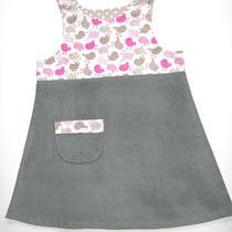 51 Kleid aus Baumwolle und Feincord.... Preis: 18,00 Euro