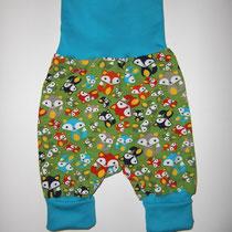 10 Baby-/ Kleinkindhose (aus Jersey und dehnbarer Bündchenware. Wächst quasi mit, weil man die Bündchen umkrempeln kann)....Preis: 16,00 Euro