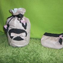 3 Pompadour und Krimskrams-Tasche