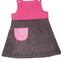 45 Kleid aus Baumwolle und Feincord.... Preis: 18,00 Euro