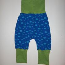 13 Baby-/ Kleinkindhose (aus Jersey und dehnbarer Bündchenware. Wächst quasi mit, weil man die Bündchen umkrempeln kann)....Preis: 16,00 Euro