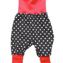 76 bequeme Babyhose Größe 50-92 aus Jersey mit krempelbaren Bündchen oben und unten .... Preis: 14,00 Euro