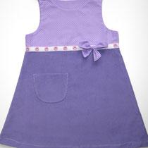 66 Kleid aus Baumwolle und Feincord.... Preis: 21,00 Euro