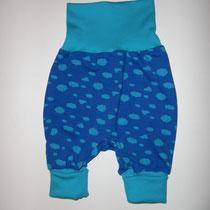 9 Baby-/ Kleinkindhose (aus Jersey und dehnbarer Bündchenware. Wächst quasi mit, weil man die Bündchen umkrempeln kann)....Preis: 16,00 Euro