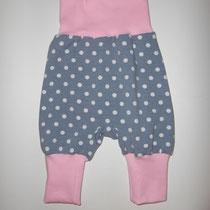 154 bequeme Babyhose Größe 50-92 aus Jersey mit krempelbaren Bündchen oben und unten .... Preis: 14,00 Euro