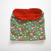 2 Kragenschal (außen Jersey, innen kuscheliger Nicki, Umfang ca.56 cm, Breite ca. 25 cm) 9,00 Euro