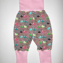 15 Baby-/ Kleinkindhose (aus Jersey und dehnbarer Bündchenware. Wächst quasi mit, weil man die Bündchen umkrempeln kann)....Preis: 16,00 Euro