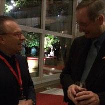 Dr. Georg Zanger und Wirtschaftskammerpräsident Dr. Christoph Leitl