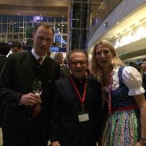 Dr. Georg Zanger mit Herr und Frau Palfinger
