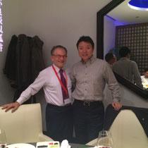 Dr. Georg Zanger und Jun Ma