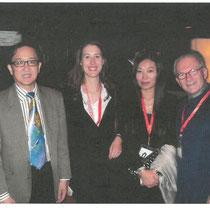 Frau Dr. Svenja Kutnig, Hongge Zhang und Dr. Zanger
