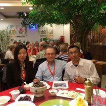 Dr. Zanger, Hongge Zhang und Raimond Dong